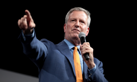 De Blasio challenges police widow: She's a good person but she's wrong.