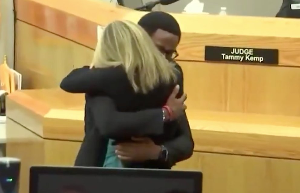 God in the courtroom: Man delivers breathtaking statement to cop who killed his brother