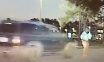 Video: Deputy rushed to the hospital after distracted driver speeds through school zone