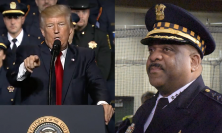 Trump slams Chicago's top cop for skipping speech: He's not doing his job