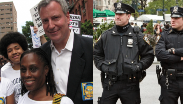 De Blasio denies telling NYPD to run errands for his son. Cops say otherwise.