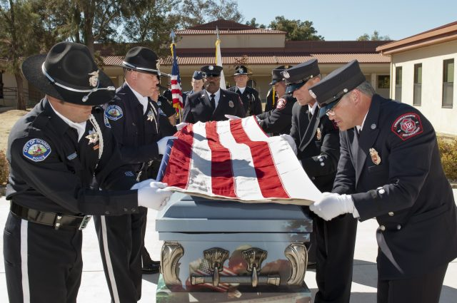 Police wife learns true meaning of Blue Family: I've never witnessed anything like it