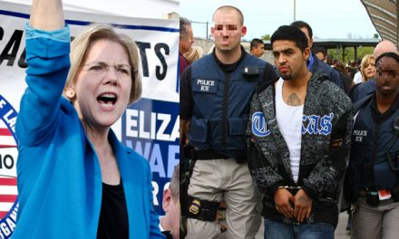 Busted: Elizabeth Warren caught on camera lying about illegal immigration