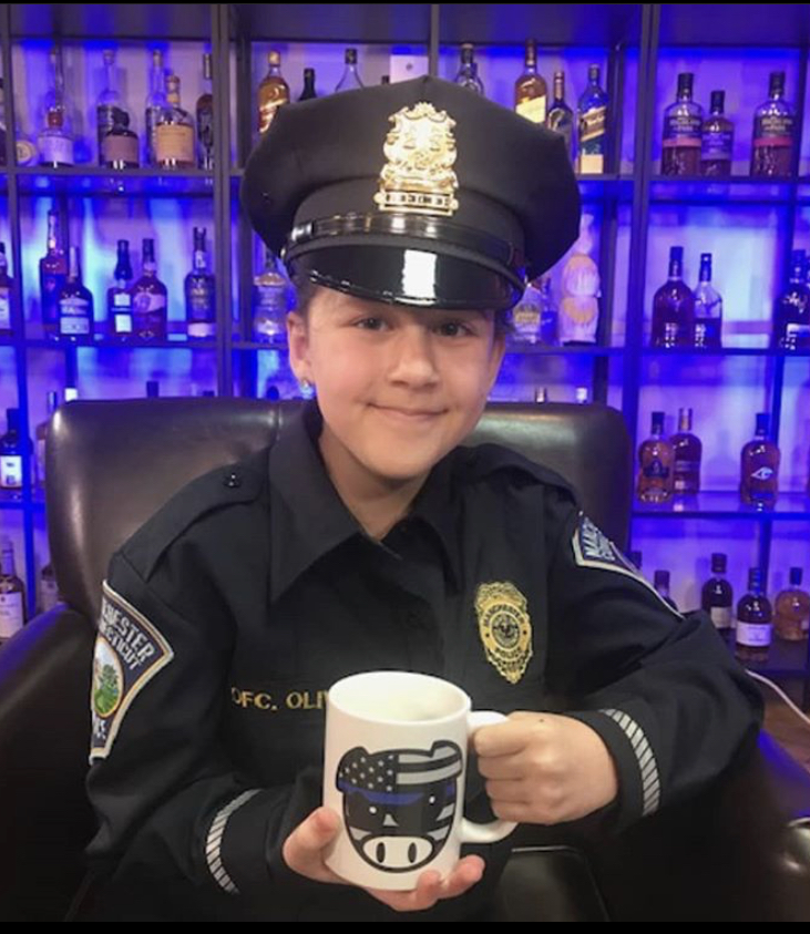 NYPD Proud Pig