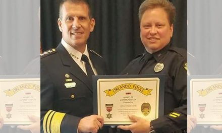 Cop battling post traumatic stress after responding to mass shooting won't be fired after all