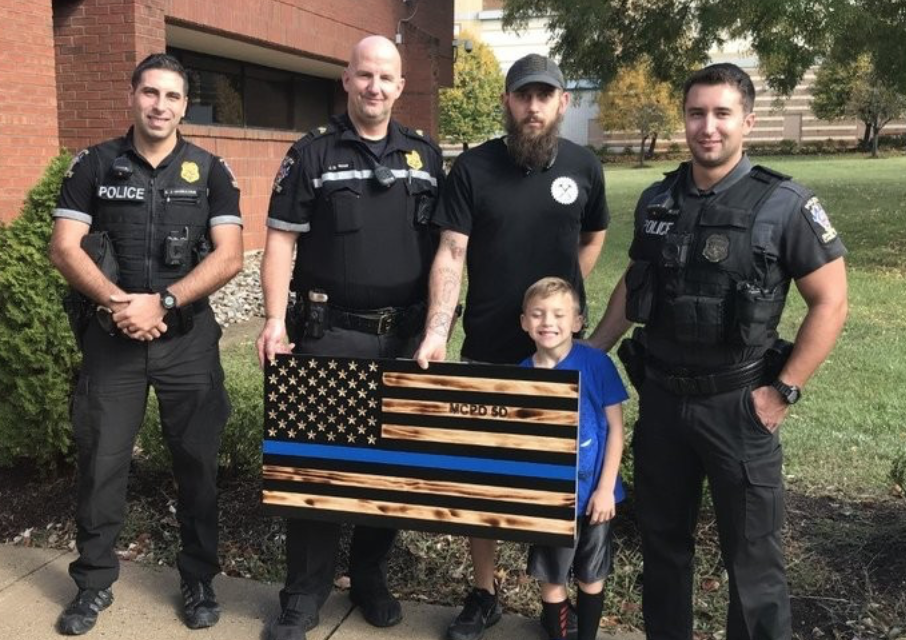 """Update: Here's the demand letter that got this flag removed from a police department: """"Symbol of hate"""""""