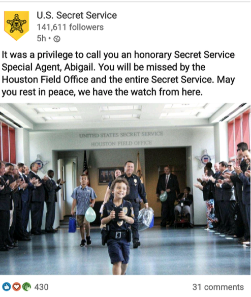 A Tribute to Officer Abigail