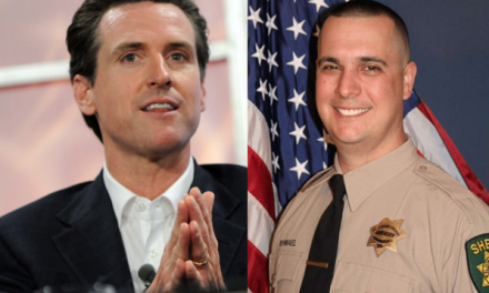 California Governor skips funeral of deputy killed by illegal immigrants