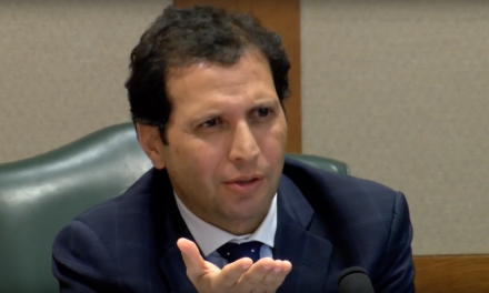 Texas politician arrested after caught on tape dropping envelope with cocaine