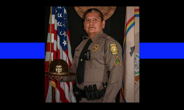 Officer Down: Navajo sergeant dead. Now his five children are without a father.
