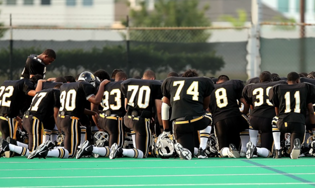 "Atheist group demands ""illegal"" post-game prayer be stopped"