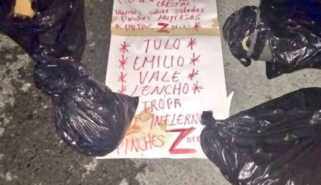 11 trash bags filled with human remains dumped outside Texas