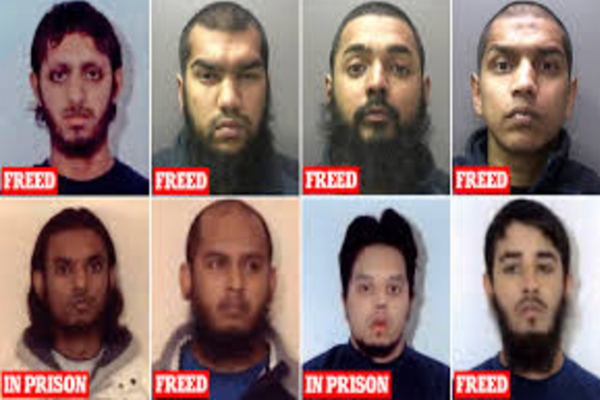 Six of London Bridge terrorist Usman Khan's fellow bomb plotters have also been freed from prison since 2012