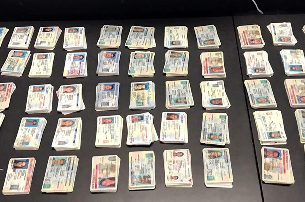 CBP seizes thousands of fake IDs headed to New York from China, including one for a convicted child rapist