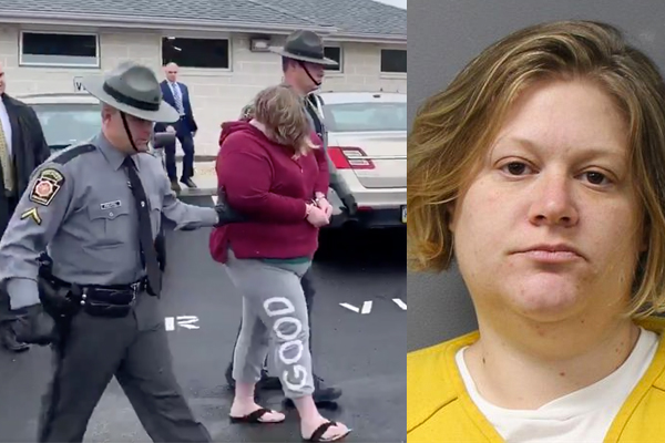 Mother charged with murdering her children, 4 and 8, then making it look like a double suicide