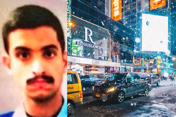 Are Saudi nationals who took part in Pensacola naval base shooting planning terror attack in NYC?