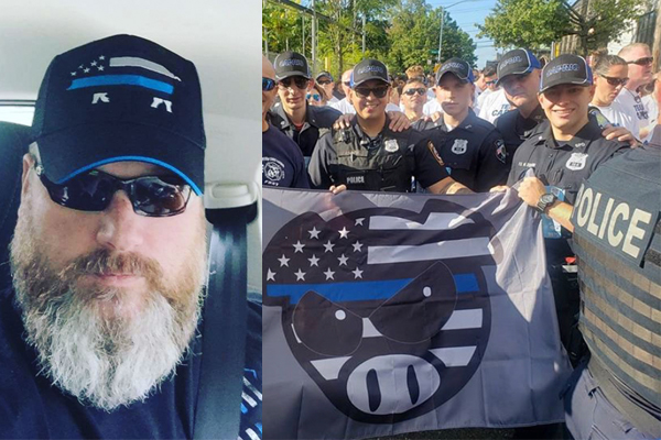 Former NYPD officer gets death threats for launching Proud Pig brand that helps support families of fallen officers