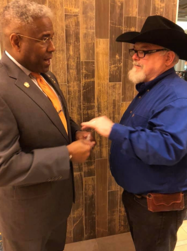 Biden says hero who stopped Texas church massacre was wrong to have a gun. So we talked to that hero.