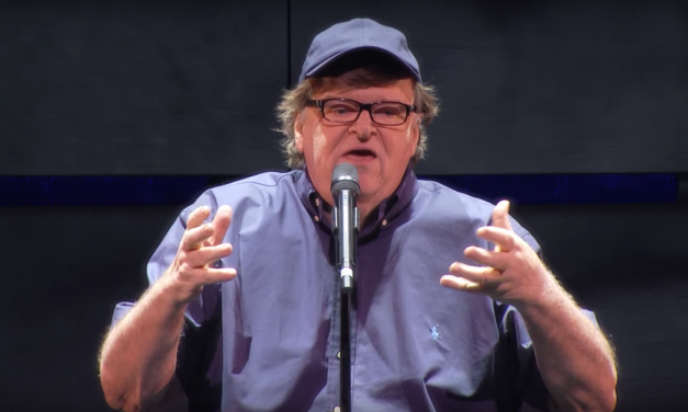 """Michael Moore says white guys who voted for Trump are bad people and you should """"be afraid of them"""""""