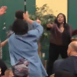 Video: Black Lives Matter protester rushes stage at Pete Buttigieg event