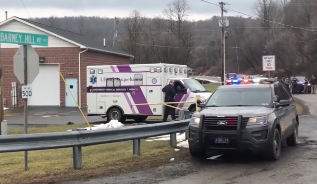 State Trooper gunned down while performing welfare check. Media barely notices.