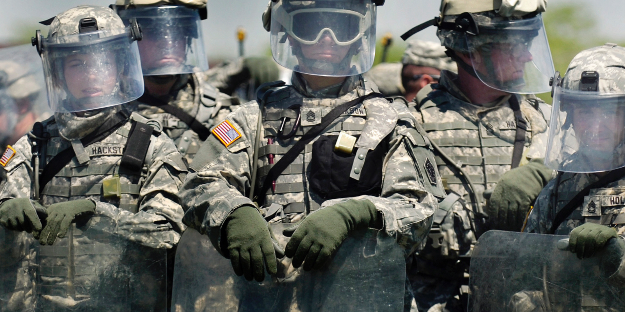 """""""The law is the law"""": Dems threaten to deploy military after cops refuse to enforce gun laws"""