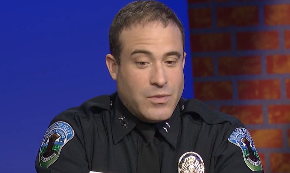 Chief who said cops shouldn't draw down on knife-wielding suspects quits the force