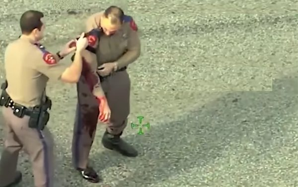 Wounded officer: Everyone hates the police until they need us.  Then they try and shoot us.