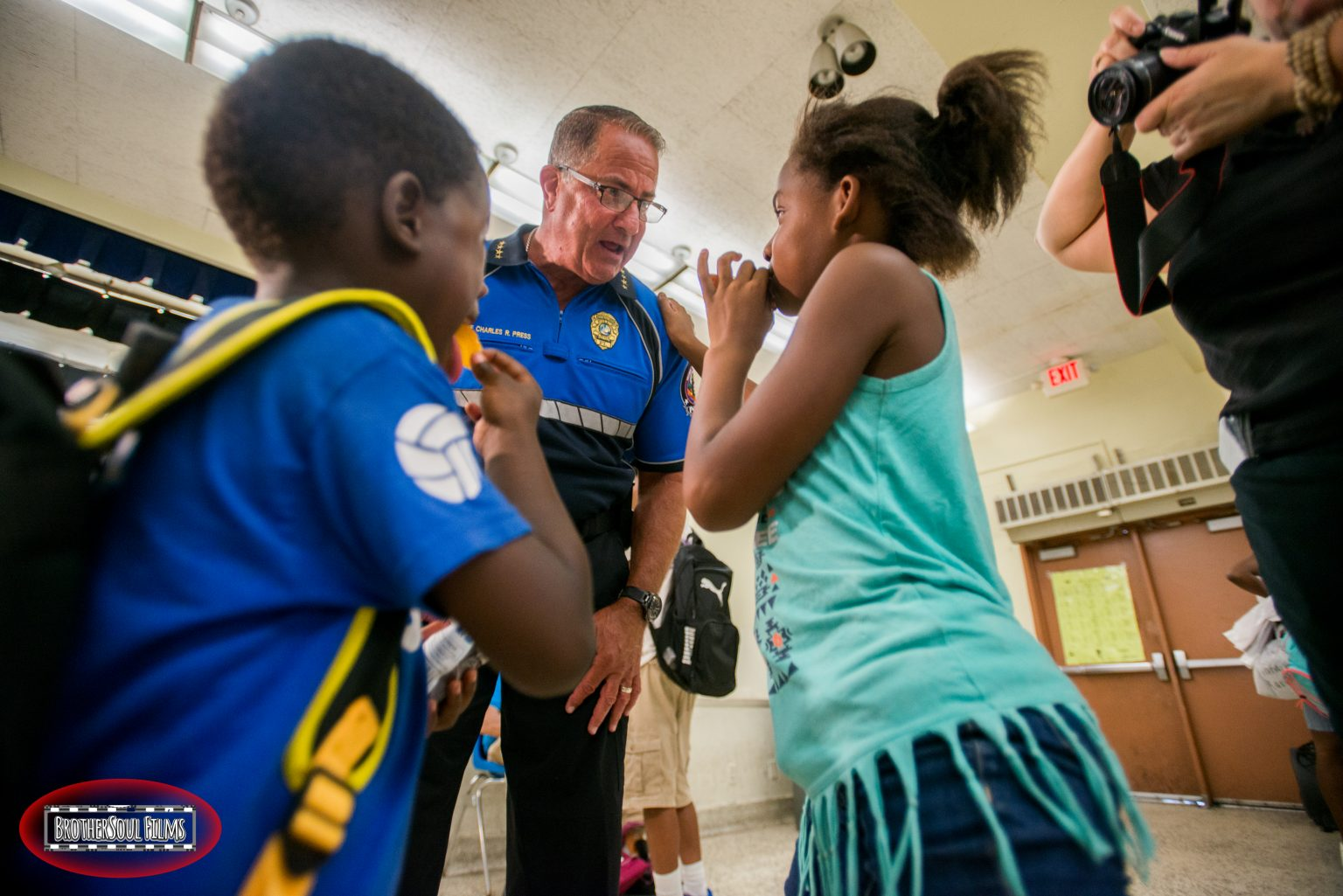 Police chief joins forces with BrotherSoul Films to bridge the gap between the black and blue communities