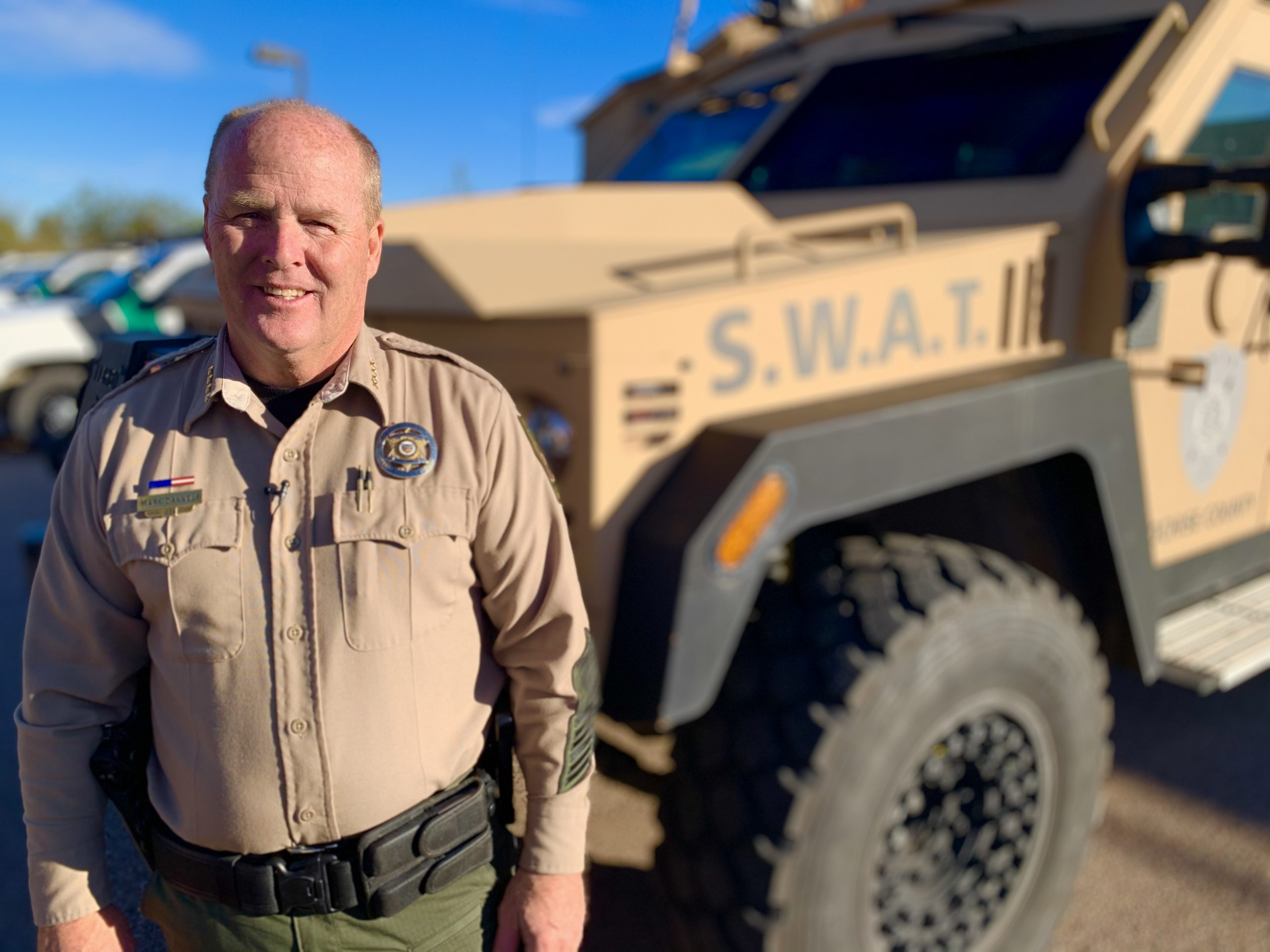 Sheriff Dannels on protecting the people of Arizona