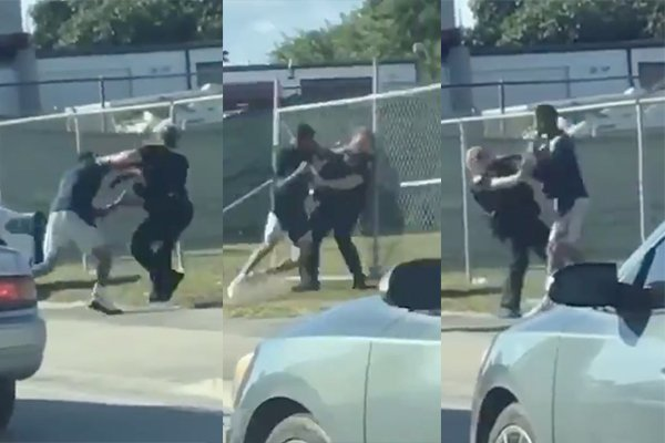 Female officer attacked, choked, punched while people filmed it for social media