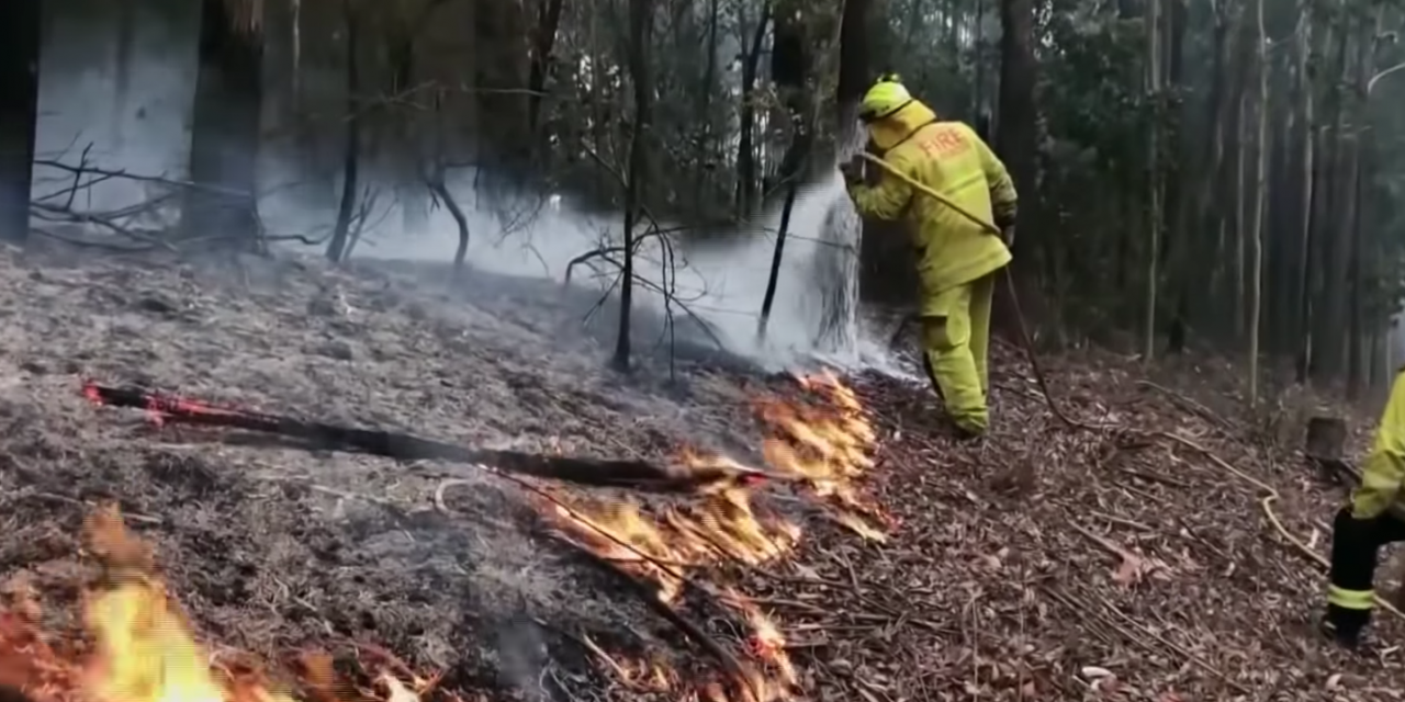 Police say an 'arson epidemic' is behind Australia's brushfires