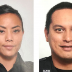 Two officers ambushed, murdered responding to call to help woman.  One is a young mother of three.