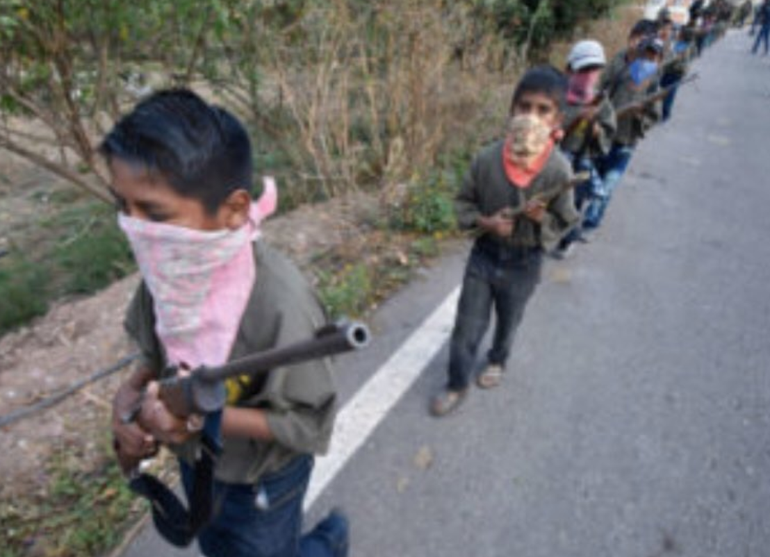 Cartel violence is so bad, kids are being trained with rifles to create a 'community police force'