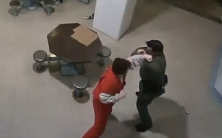 Parkland shooter attacks jail deputy, tries to steal taser after guard tells him not to drag shower shoes.