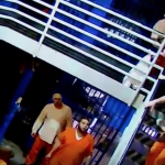 Inmate throws female officer headfirst off second story balcony
