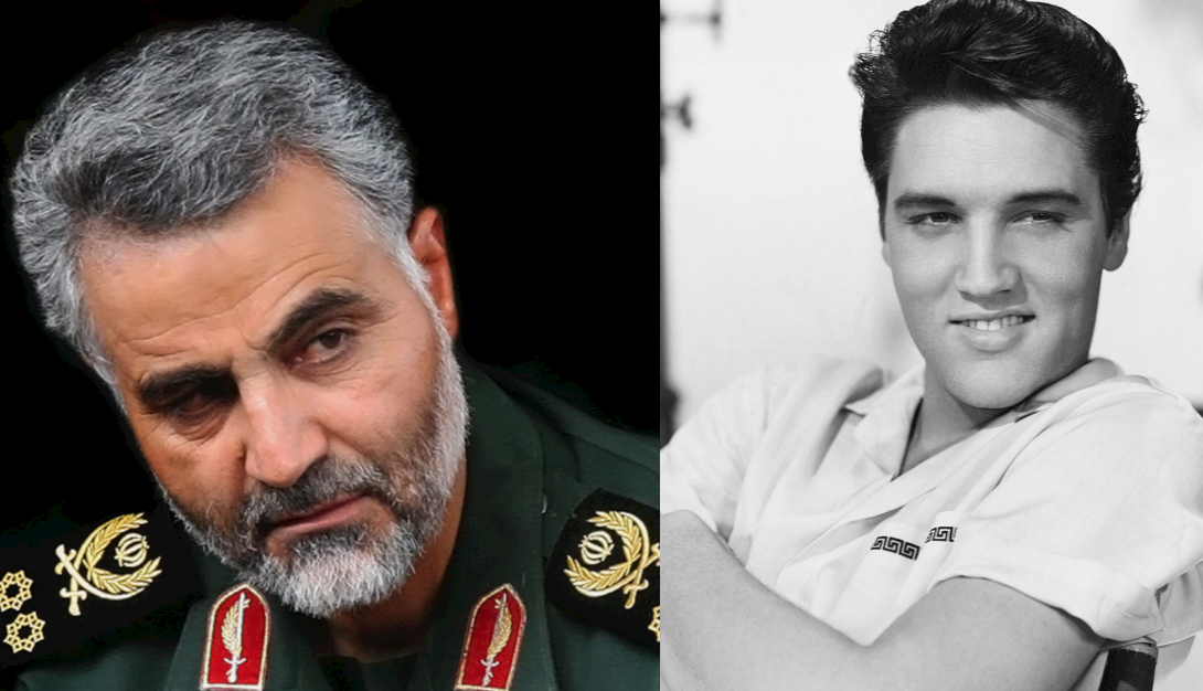 Police-bashing media outlet compares mass murderer Soleimani's death to Princess Diana, Elvis