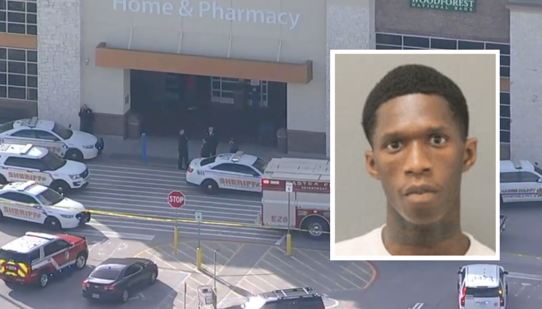 Teen on probation tries to rob Walmart with a shotgun. Off-duty cop: Not in my town.