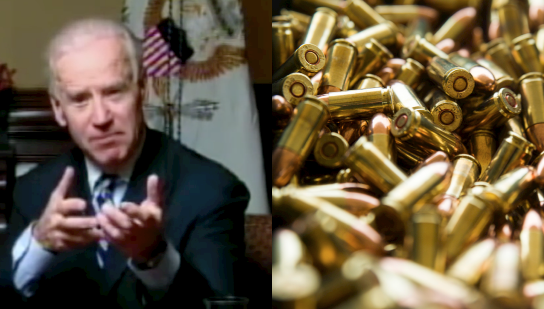 Biden: I've beaten the NRA. Time to get rid of their ammo.