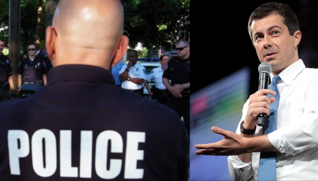 """Buttigieg-approved diversity training: Every cop in America is """"racist"""""""