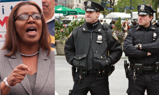 NY Attorney General suggests arresting criminals is racist. You can't make this stuff up.