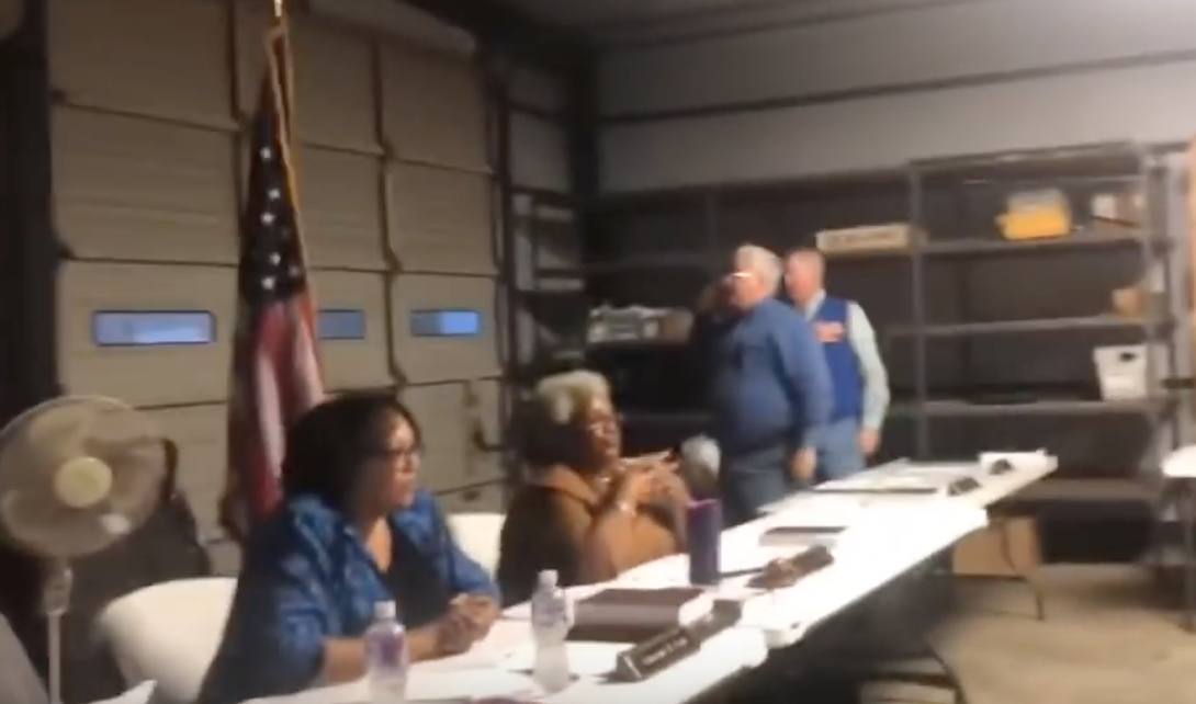 City 'leader' threatens to call the cops on people reciting Pledge of Allegiance