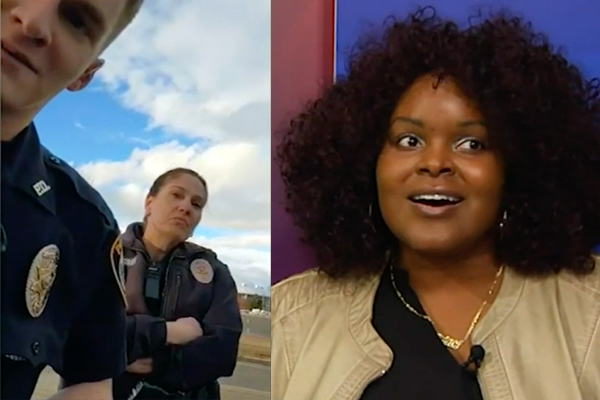 Police chief puts innocent cop on desk duty after he's falsely accused of racism