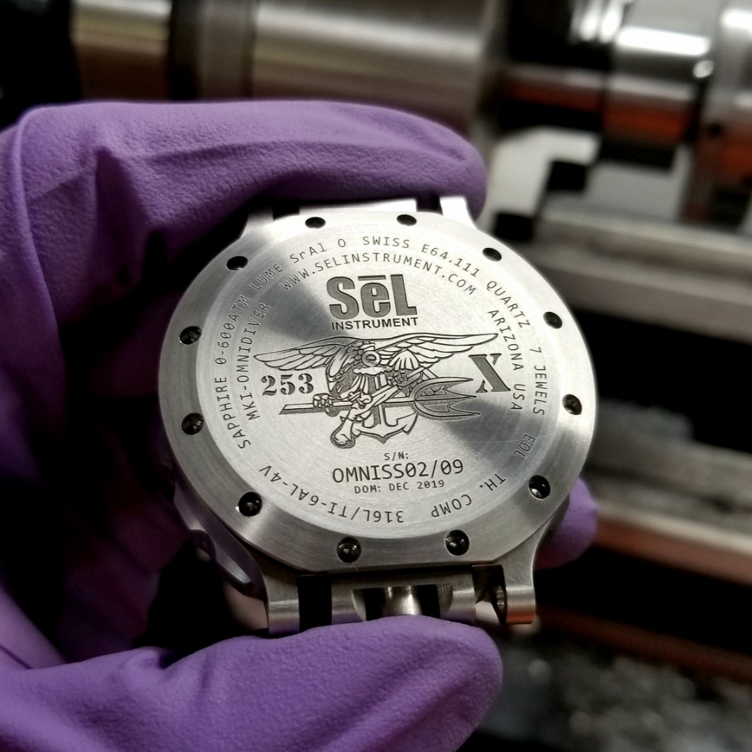 Product Review Of SeL instrument Titanium and stainless OmniDiver Watch