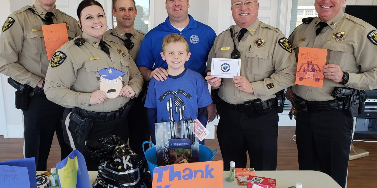 Law Enforcement Appreciation Day is Thursday.  Will you help us pay tribute?