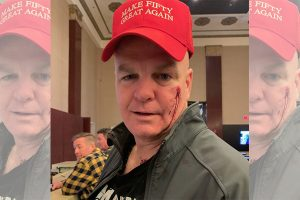 Retired cop violently attacked by woman over his birthday hat - mistaken for MAGA hat