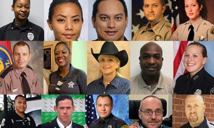We've lost 21 officers in the line of duty so far this year. That's 21 families that will never be the same.