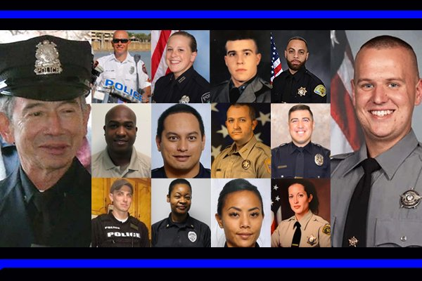 In January, we lost 14 officers. You might not know that because the media was focused on the impeachment.