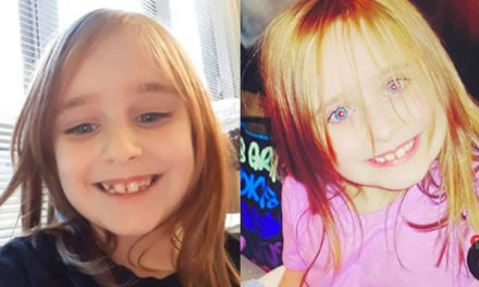 Faye Marie, 6-year-old girl, got off the bus then disappeared.  Police need our help to find her.