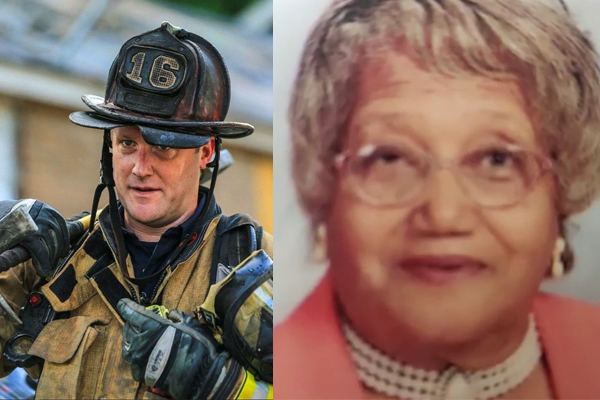 Atlanta firefighter suspended for trying to save elderly woman from burning home